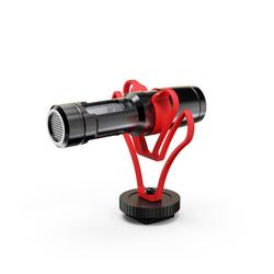 单反麦克风手机收音麦微单相机采访直播话筒Vlgo视频网课录音便携