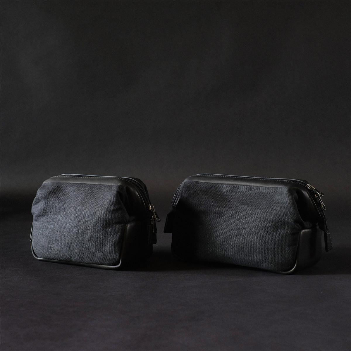 cam-in 真皮/防水蜂蜡布 专业摄影器材收纳包摄影包LCCB-003