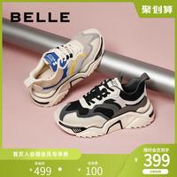 百丽运动风老爹鞋女2020春季新品商场同款松糕网红鞋U8D1DAM0