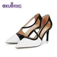 查看exull依思Q女鞋新款尖头细高跟单鞋女高跟鞋户外休闲女鞋价格