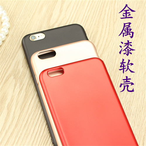 Oppo r17pro A7 R15 a77 A79 A73 metallic mobile phone case protective cover red soft rubber case
