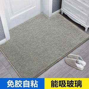 自吸式地垫门垫进门防滑入户门口家用脚垫进户门前厅免胶纯色地毯