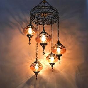 新疆餐厅吊灯土耳其复古异域民族风情咖啡厅镂空雕花漫咖啡吊灯