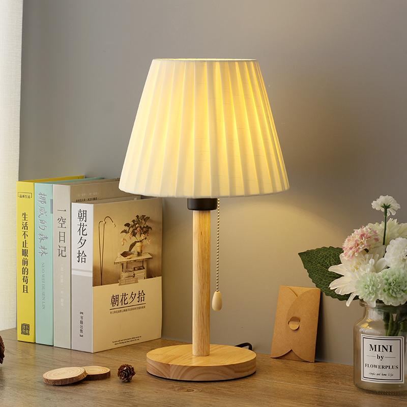 卧室温馨浪漫日式网红ins床头灯