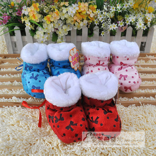 Prerequisites super cute newborn baby shoes baby warm shoes baby booties mushroom shape shoes