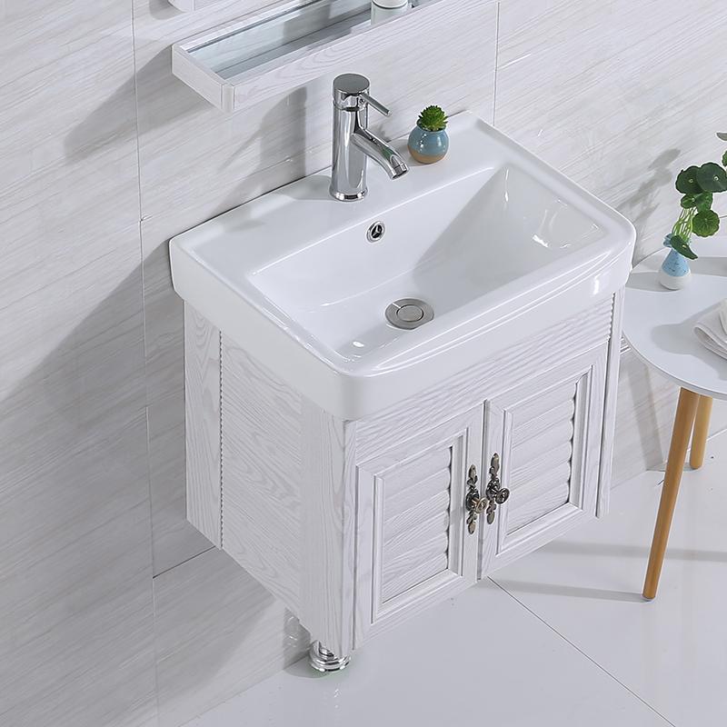 洗手盆柜组合卫生间简易挂墙式面池208.00元包邮