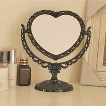 Anasu European double-sided makeup mirror cute princess makeup wedding with creative simple large desktop desk