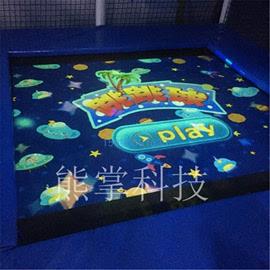 淘气堡儿童乐园室内设备大型蹦床投影互动3d感应AR投影定制图片