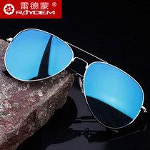 藍其偏光太陽鏡夾片男潮太陽眼鏡夾片司機開車墨鏡夾片新品
