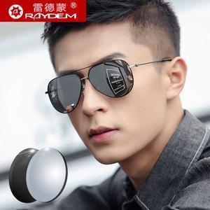 带度数定制可配近视墨镜男士偏光太阳镜有潮开车司机专用驾驶眼镜