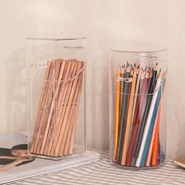 笔筒创意多功能北欧个性简约办公室桌面文具收纳时尚可爱化妆刷筒
