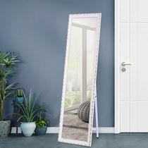 镜子贴墙自粘拼接创意全身镜显瘦拉长隐藏卧室房间圆角个姓墙镜玻