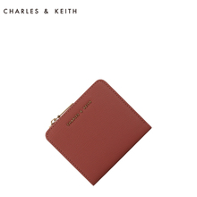 Charles & Keith short wallet ck6-50770356 European and American simple solid color women's wallet