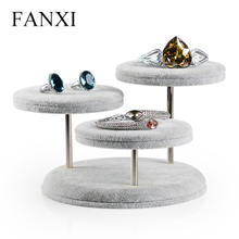 凡西创意圆桌项链珠宝展示托展示架