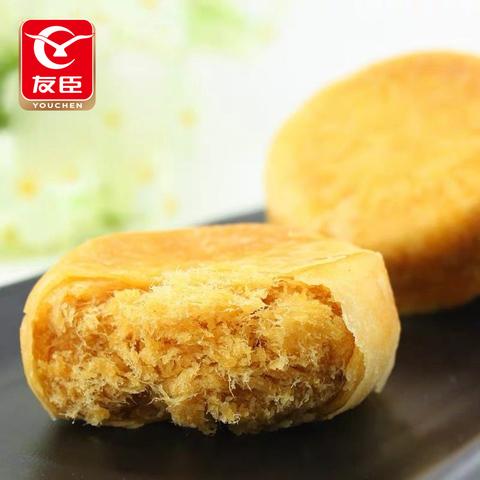 友臣散装肉松饼500g营养早餐糕点网红零食美食小吃休闲食品点心
