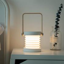 创意手提灯笼小夜灯充电折叠看书灯卧室床头ins少女网红台灯礼物