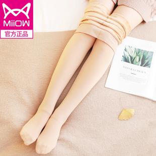 猫人冬季加绒可内外神器丝袜打底裤
