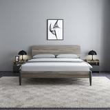 工厂直销床现代简约1.8米主卧双人实木床北欧1.5米经济型卧室家具