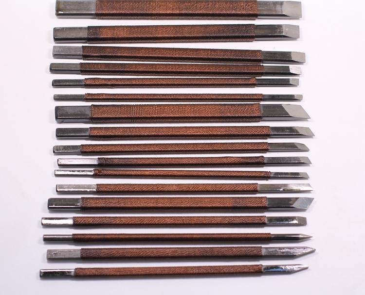 У процветающий большой марганца печать резец печать гравировка инструмент нож печать гравировка глава нож зеленый поле камень глава