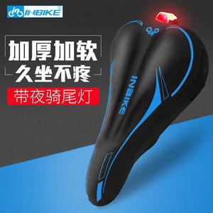 加厚海綿硅膠舒適山地車自行車動感單車座墊套超軟減震坐墊套座套