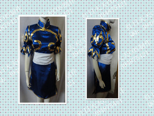 Red COSPLAY clothes every day Chunli clothes cos / cosplay clothes custom