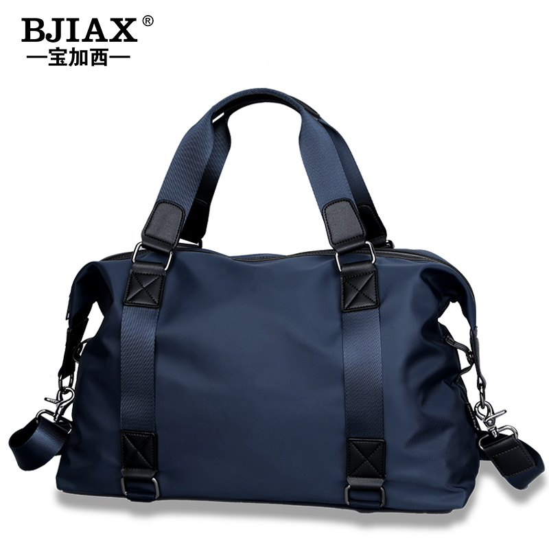 Light business travel bag male hand luggage bag large capacity short distance travel single shoulder backpack leisure fitness bag