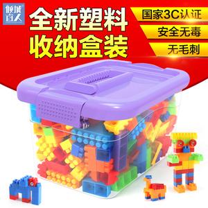 领5元券购买积木桌多功能益智岁legao塑料玩具