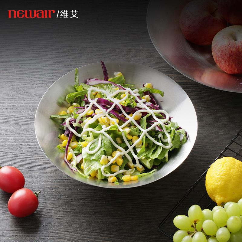 不锈钢水果盘家用创意现代客厅茶几水果拼盘零食干果蛋糕点心托盘