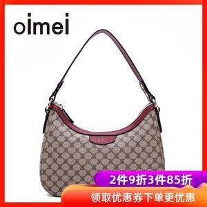 oimei中年妇女包妈妈包斜挎包女韩版迷你小包包手提包单肩包女pvc图片