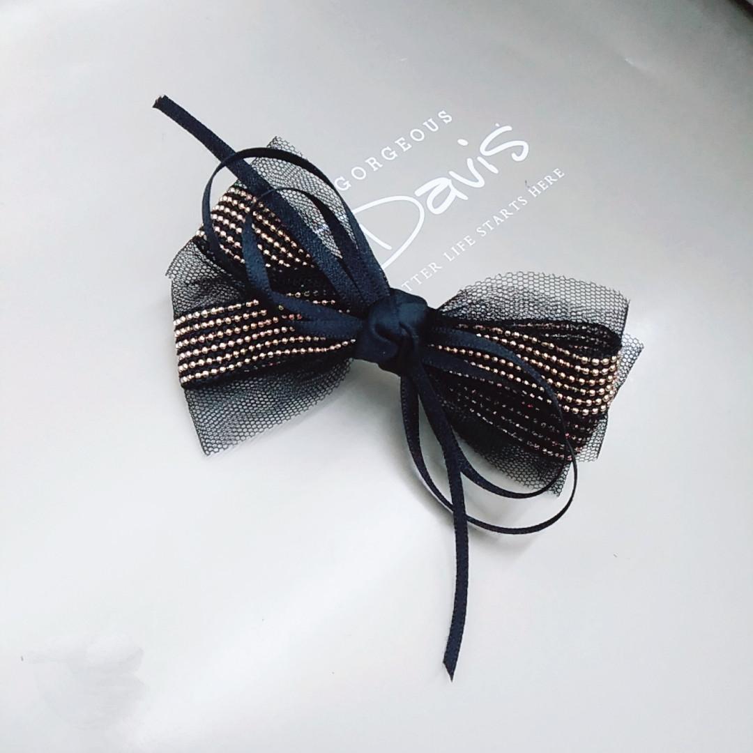 包邮重金属蕾丝金银发饰时尚顶夹流行边夹饰品女简约一字夹头饰