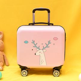 定制儿童拉杆箱logo18寸男女童旅行箱万向轮登机箱可爱拉杆箱卡通