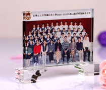Company Gift Custom Souvenir Crystal A4 screen photo photo picture frame making image pendulum