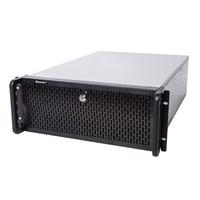 航嘉4u工控机箱4U652 655电脑机箱行业服务器工控机箱10 15硬盘位