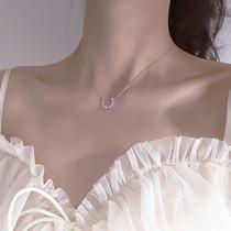 张艺兴原创设计感贝壳项链女锁骨链轻奢小众设计吊坠颈链LAYCIGA