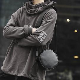 男士背包小型迷你简约斜挎包男ins潮小挂包男韩版学生男包单肩包图片