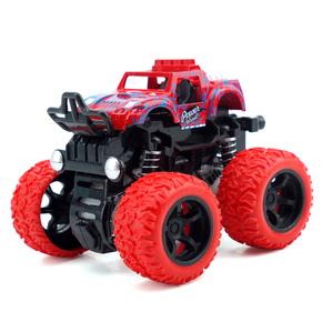 惯性四驱越野车儿童男孩礼物模型抗耐摔玩具一岁宝宝幼仿真小汽车