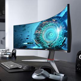 AOC 200Hz電競顯示器2K高清21:9帶魚屏30英寸曲面CQ30G3Z電腦寬屏144Hz屏幕32游戲PS4曲屏34臺式27吃雞29炒股圖片