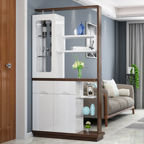 Entrance parlour door closed Cabinet Hall cabinet double-sided paint modern simple large capacity partition Hall cabinet liquor cabinet storage