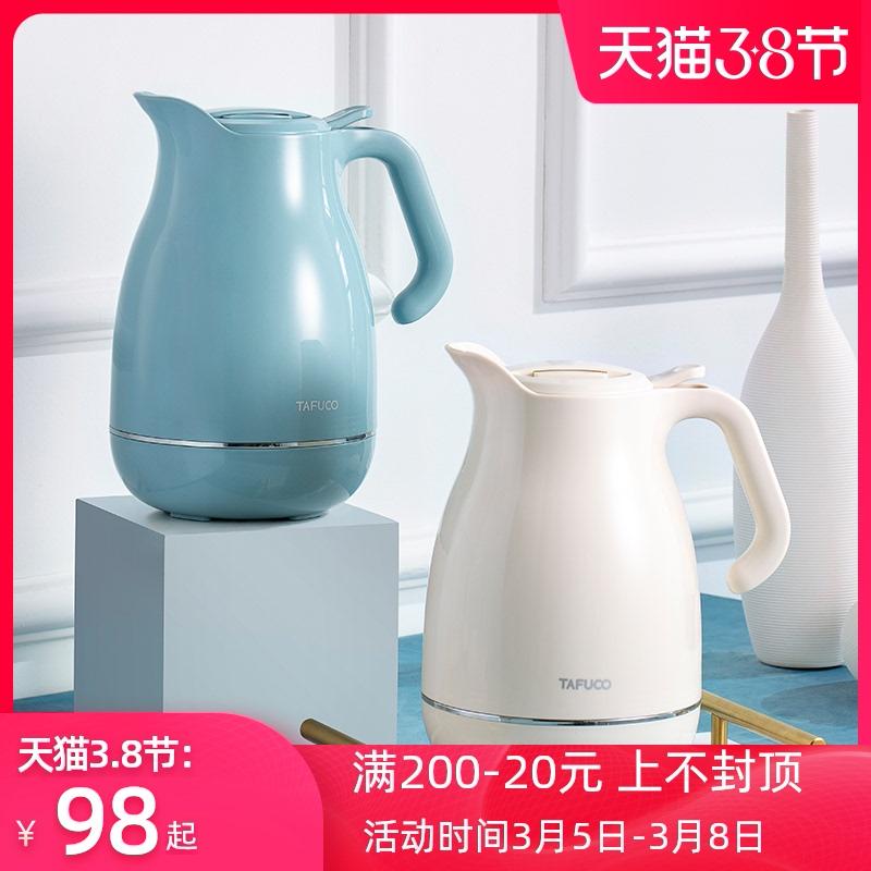 新品日本泰福高1.5升玻璃保温水壶