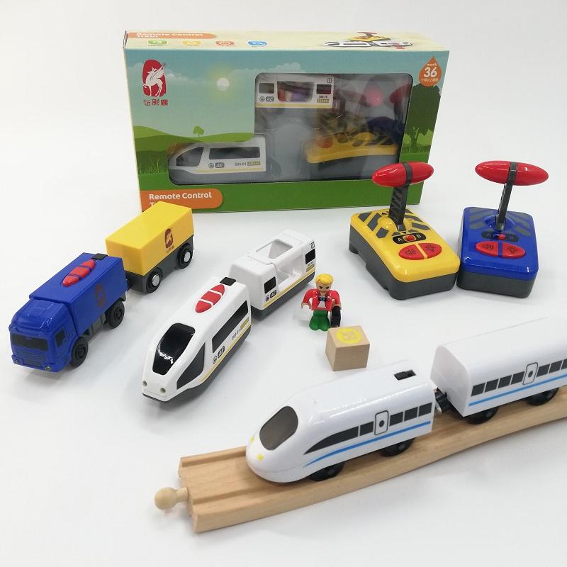 木质轨道车电动可兼容 brio小火车头