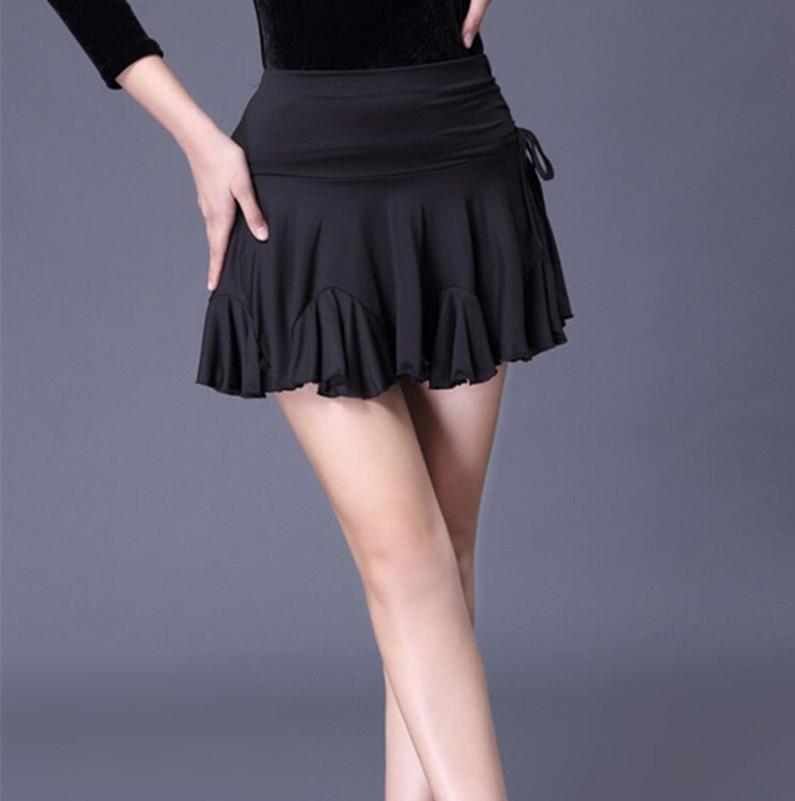 Латиноамериканская юбка новая коллекция Практические юбки Юбки Талия без Короткая юбка для взрослых