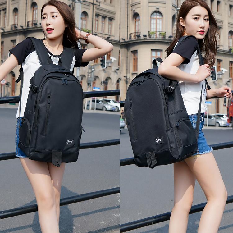 Backpack backpack mens large capacity junior high school students schoolbag mens fashion womens bag