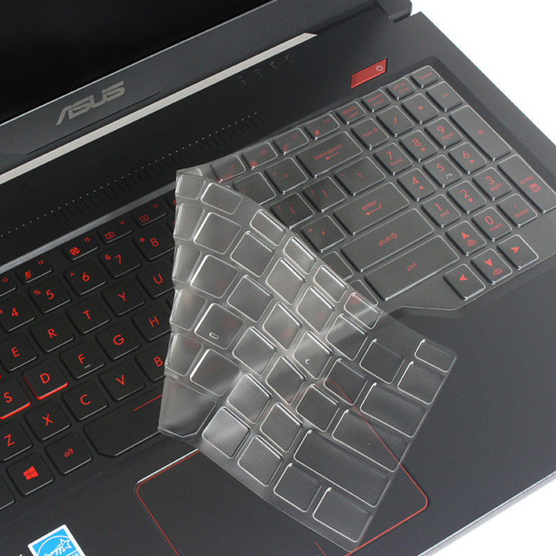 15.6英寸华硕飞行堡垒7代FX95键盘膜6代FX86F笔记本电脑屏幕贴膜