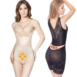 香妮美人计塑身衣正品收腹束腰连体衣燃脂无痕瘦身美体内衣女薄款图片