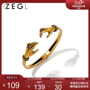 【双11预售】ZENGLIU小众设计师复古巴洛克手镯女开口手环手饰品