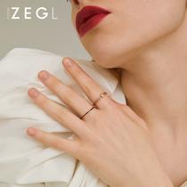 ZENGLIU冷淡风细戒指女日式轻奢食指戒网红简约气质小众设计指环