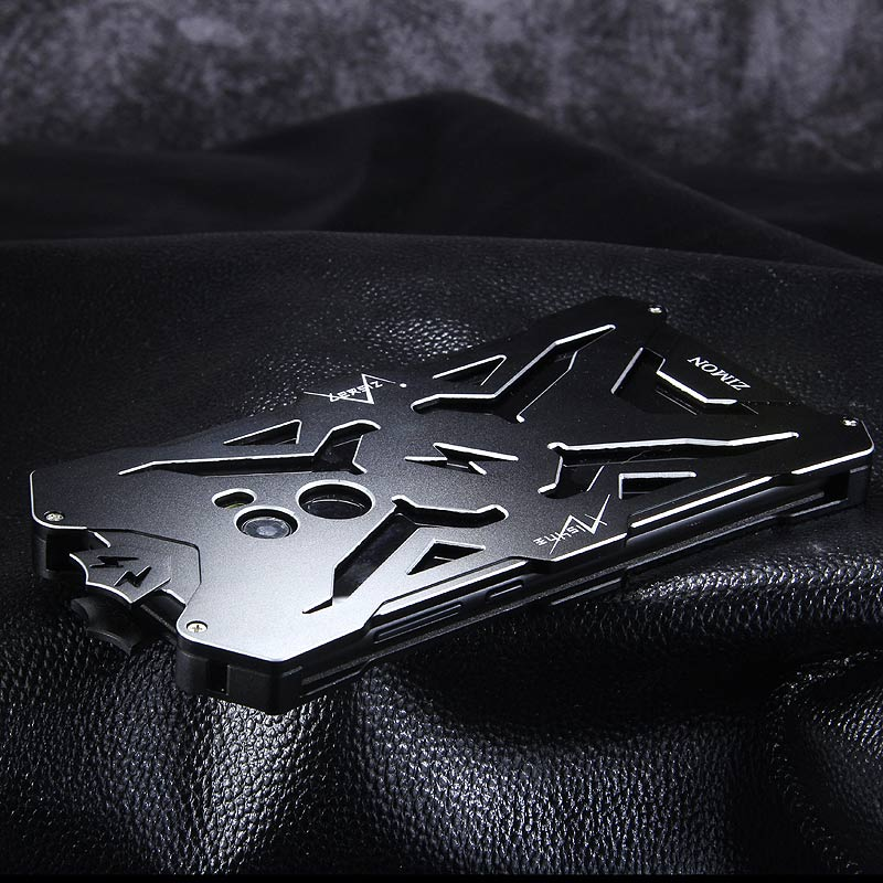 SIMON THOR Aviation Aluminum Alloy Shockproof Armor Metal Case Cover for Xiaomi Mi MIX 2