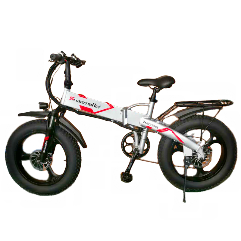 Snow folding electric bicycle - Folding electric bicycle direct sale 26 inch snow electric vehicle 20 inch direct sale