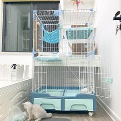 猫笼子家用猫别墅超大猫舍宠物猫咪