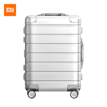 Xiaomi metal suitcase, 20 inch suitcase, men's and women's universal wheel, small boarding box, password box, pull rod box